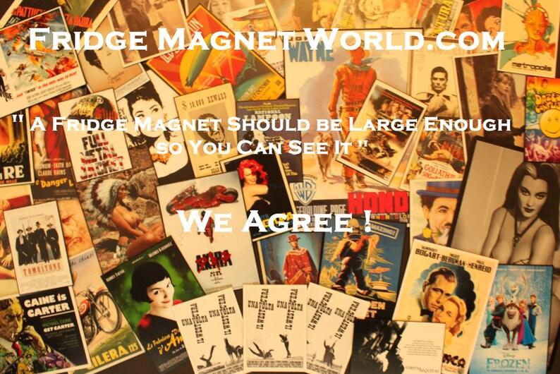 Watchmen FRIDGE MAGNET 6x8 Magnetic Movie Poster CANVAS Print