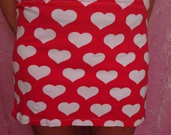 Love heart skirt