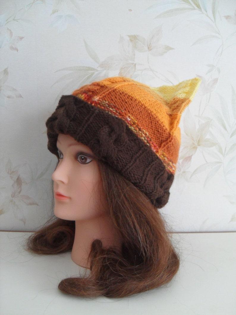 80cf533eaa129 Womens winter hat Cat ear hat Cat beanie