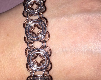 Axis of Awesome Chain Maille Bracelet