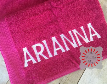 Personalized Towel Etsy