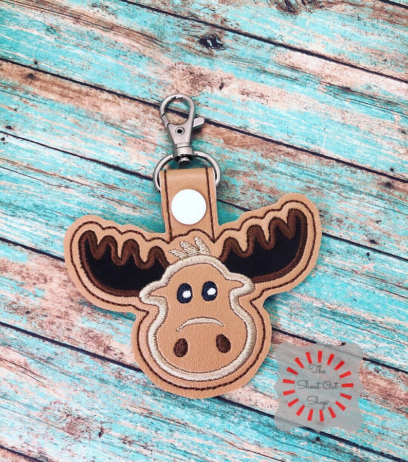 Lights & Lanterns Camping & Hiking Moose Keychain