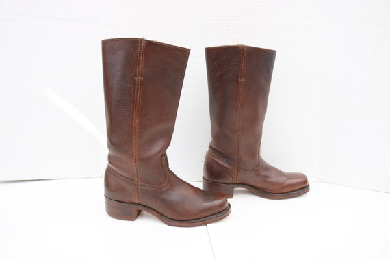Frye CAMPUS women brown  boots size 9