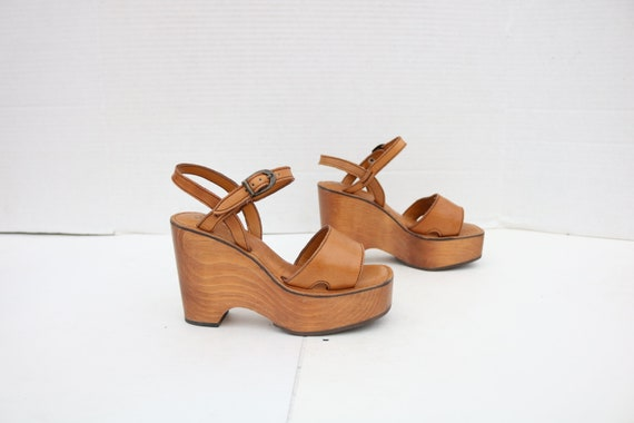 Vintage clogs sandal size 5