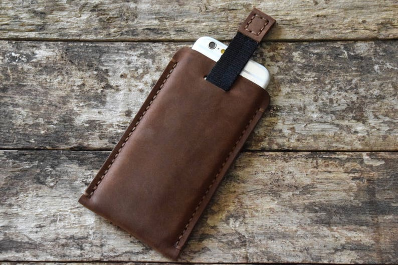 SE 2020 iphone leather sleeve pouch brown phone case 11 pro max  11 pro  11  xs max  xs  x  xr 7 8 plus  6 6s plus  5c  5 5s  SE