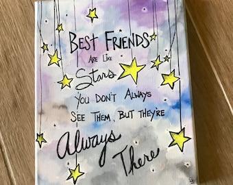 Long Distance Friendship Best Friend Gift Friend Birthday Gift Etsy