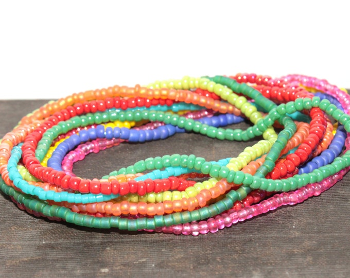 Rainbow Single Dainty Bracelets