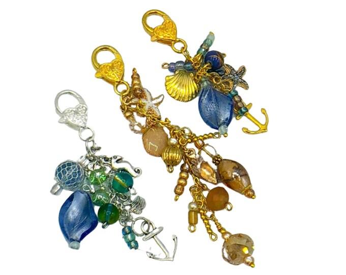 Handmade Beaded Sea Charms