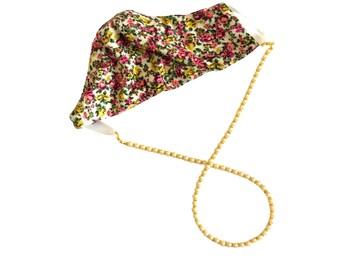 Stylish Pearl Face Mask Holder, Pearl Face Mask Lanyard, Pearl Face Mask Necklace, Pearl Lanyard, Bead Face Mask Holder, Mask Chain, Wedding