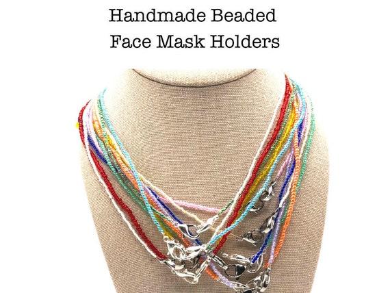 Mask Strap Neutral Freshwater Pearls Mask Chain Mask Necklace Mask Holder Mask Lanyard