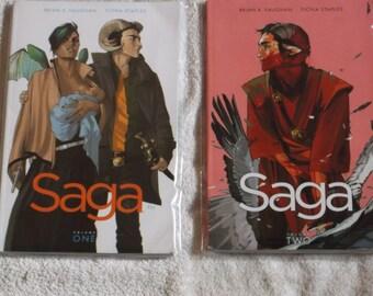 sci-fi-comics-sage TPB- # 1-2 -paperbacks  - GD
