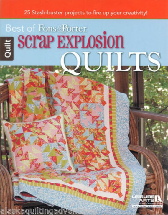 Scrap Explosion Quilts Best Of Fons Porter Free Shipping Etsy