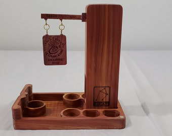Limited Edition ECCC 2020 Aromatic Cedar Zucati FLUME Keep - Dice Tower and Storage system
