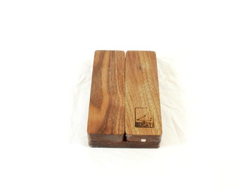 Zucati Dice Base™: FLUME - Black Walnut - Fusion