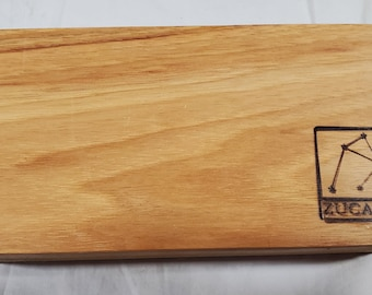 Zucati Dice Base™ Half Core Wood Case - Exactly As Seen - Canary wood