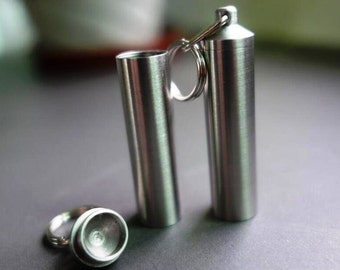 Zucati Branded Stainless Steel Vial