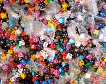 Zucati Pound of Dice: Massive Variety of Dice of all kinds