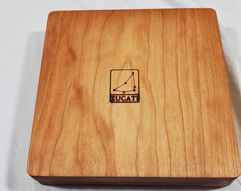 Zucati Dice Case / Tray / Rolling Surface - Player Core - Cherry