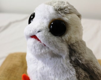 Zucati Custom Porg From Star Wars: The Last Jedi - World's Softest Fur and Biggest Eyed Porgs