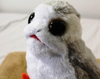 Zucati Custom Porg From Star Wars: The Last Jedi - World's Softest Fur and Biggest Eyed Porgs