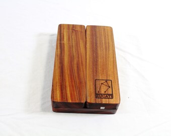 Zucati Dice Base™: FLUME - Fusion - Bolivian Rosewood