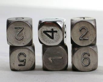 Zucati Dice: Magnesium 6d6 Set Round Corners