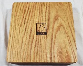 Zucati Dice Case / Tray / Rolling Surface - Player Core - Oak