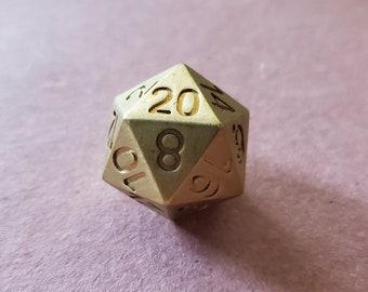 D20 Zucati EleMetal™ Brass