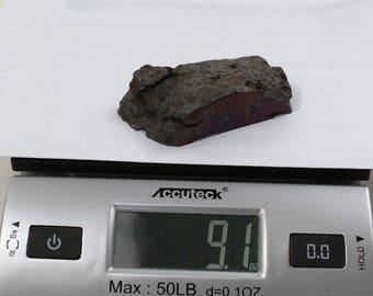 9.1oz CAMPO del CIELO Meteorite cut piece