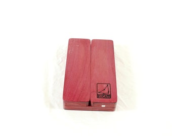 Zucati Dice Base™: FLUME Fusion Purpleheart wood