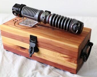 Complete Star Wars Lightsaber Master Set in Aromatic Cedar - Cast Iron - Set #6