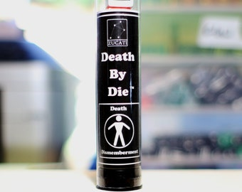 Death and Dismemberment - Single Tube of Random Color Set of Eight (8) Dice