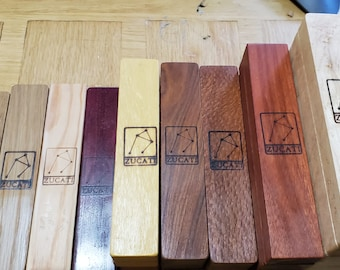 Zucati Dice Base™:  Dice Base 3/4 in standard and exotic woods