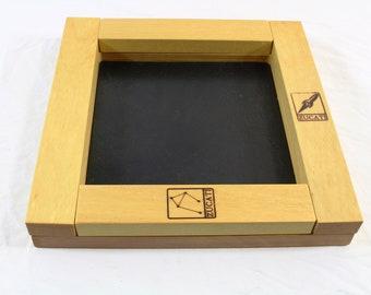 Zucati Dice Base 2™:  Premium  Rolling System - Yellowheart
