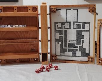 Configure Your Own Zucati Dungeon Master Screen - Cherry Hardwood