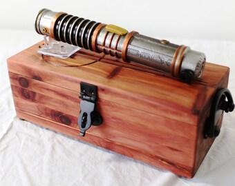 Complete Star Wars Lightsaber Master Set in Aromatic Cedar - Cast Iron - Set #4