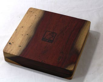 Zucati Dice Base™: Player Core - Katalox with Brown Leather - One Only