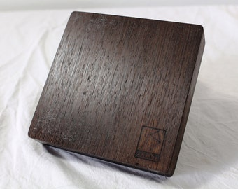 Zucati Dice Case / Tray / Rolling Surface Player Core - Wenge