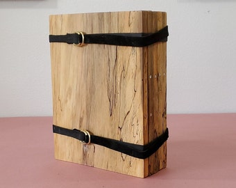 Zucati Dungeon Master Screen - Master Bundle - Comes with Everything Seen - Spalted Cottonwood / Purple Heart