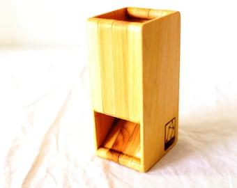 Zucati FLUME 2 Dice Tower - Poplar
