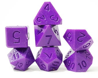 Perfect Plastic Dice - RAW - Purple