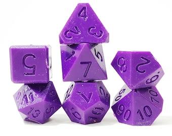 Perfect Plastic Dice - RAW - Purple