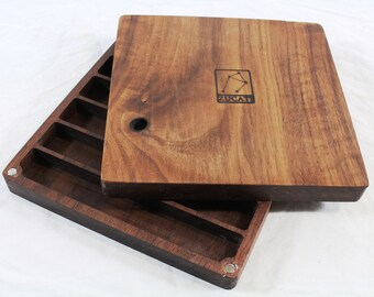 Zucati Dice Base™: Player Core - Black Walnut