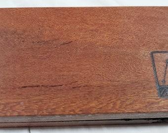 Zucati Dice Base™ Half Core Wood Case - Exactly As Seen - Leopard Wood