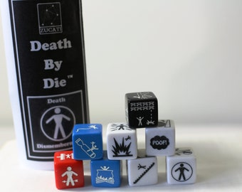 Single Die - Death by die™ - Death And Dismemberment