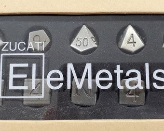EleMetal Premium Dice
