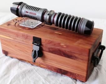 Complete Star Wars Lightsaber Master Set in Aromatic Cedar - Cast Iron - Set #8