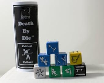 Single Die - Death by die™ - Critical Fail