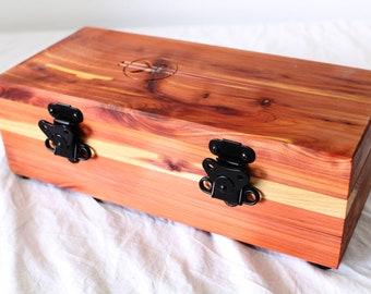 Lightsaber Chest in Aromatic Cedar - Birdseye Maple