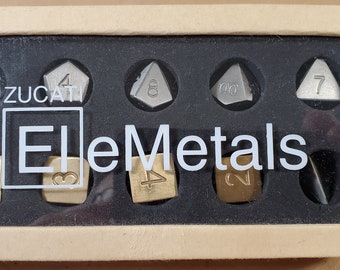 Zucati Elemetals Mixed Metal Set of 10